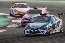 #57 LAP57 Racing,本田Integra Type R: Mohammed Al Owais, Abdullah Al Hammadi, Nader Zuhour, Junichi Ume