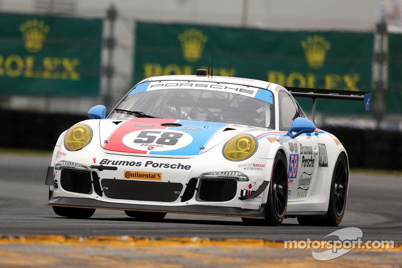 #58 Wright Motorsports Porsche 911 GT America: Madison Snow, Jan Heylen, Patrick Dempsey, Philipp En