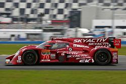 #70 SpeedSource Mazda, Mazda: Sylvain Tremblay, Jonathan Bomarito, Tristan Nunez