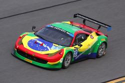 # 64 سكوديريا كورسا فيراري 458 إيطاليا: فرانسيسكو لونغو، دانيل سيرا