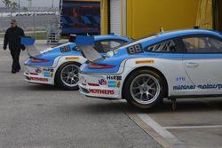 Muelner Motorsport Porsches