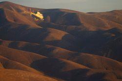 Malerische Bilder von der Dakar und aus dem Hubschrauber