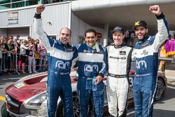 Second place Adam Christodoulou, Cheerag Arya, Thomas Jäger, Tom Onslow-Cole celebrate