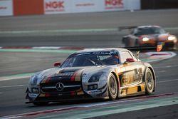 #6 Gravity Racing International Mercedes SLS AMG GT3: Vincent Radermecker, Eric Lux, Gérard López, L