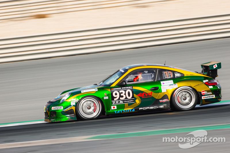 #930 Team 930 Rush Porsche 997 Cup: Yutaka Matsushima, Tomoyuki Takizawa, Yosuke Shimojima, Takeomi