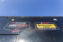 Tudor United Sportscar Championship та Continental Tire Sportscar Challenge signage