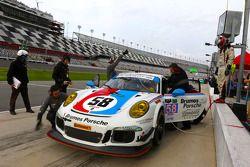#58 Wright Motorsports Porsche 911 GT América: Madison Snow, Jan Heylen, Patrick Dempsey, Philipp En