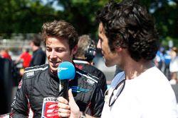 Marco Andretti und Dario Franchitti