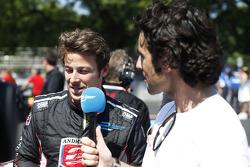 Marco Andretti and Dario Franchitti