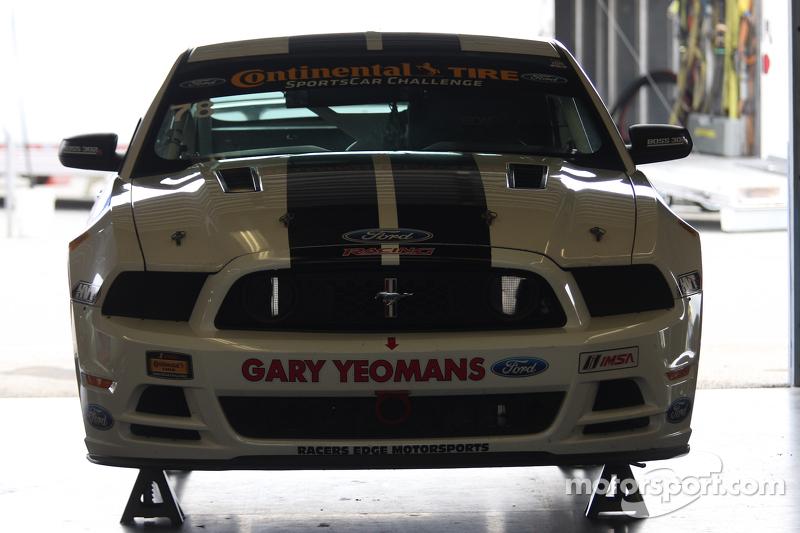 #78 Racers Edge Motorsports,野马Boss 302 R: Chris Beaufait, Bob Michaelian