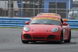 #87 Rebel Rock Racing, Porsche Cayman: Ramin Abdolvahabi, James Vance