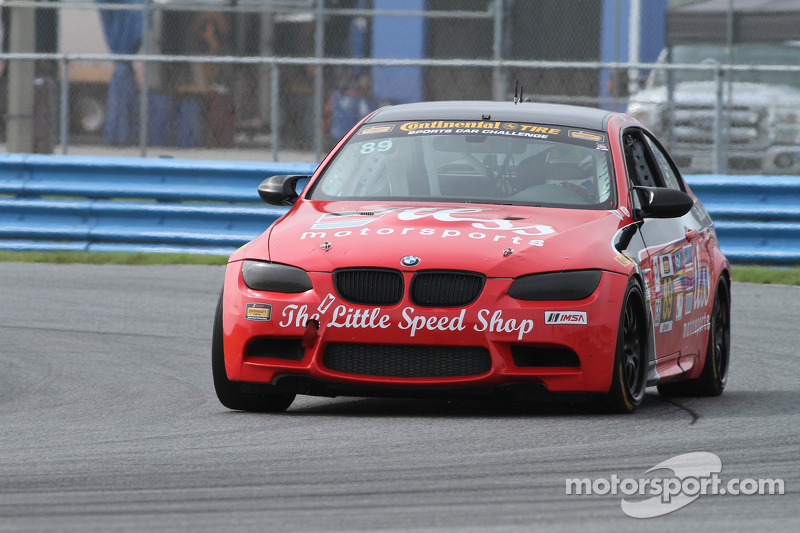 #89 TLSS Motorsports BMW M3: Ken D'Arcy, Sam Schultz