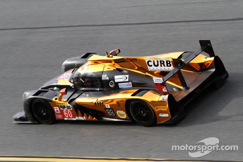#60 Michael Shank Racing with Curb/Agajanian Ligier JS P2 Honda: John Pew, Oswaldo Negri, A.J. Allme