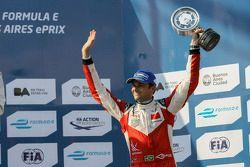 Third place Nelson Piquet Jr., China Racing