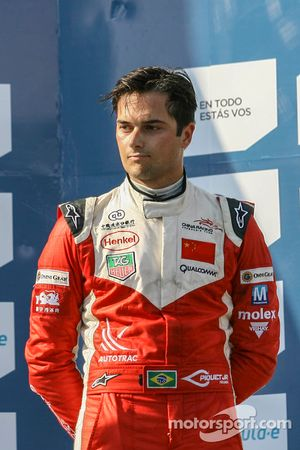 Troisième place : Nelson Piquet Jr (China Racing)