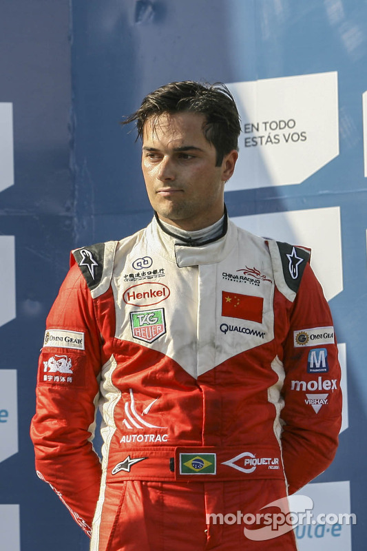 Third place Nelson Piquet Jr., China Racing