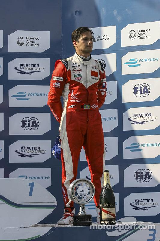tercer lugar Nelson Piquet Jr., Chena Racing