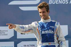 Race winner Antonio Felix da Costa, Amlin Aguri