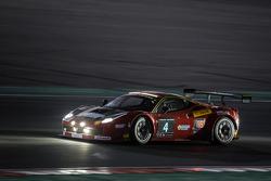 #4 Scuderia Praha, Ferrari 458 Italia GT3: Jiri Pisarik, Jaromir Jirik, Matteo Malucelli, Peter Kox