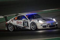 #20 MRS GT-Racing, Porsche 991 Cup: Manuel Nicolaidis, Olivier Baharian, Thierry Blaise, Johnson Hua