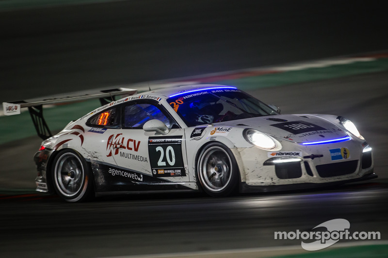#20 MRS GT-Racing Porsche 991 Cup: Manuel Nicolaidis, Olivier Baharian, Thierry Blaise, Johnson Huang