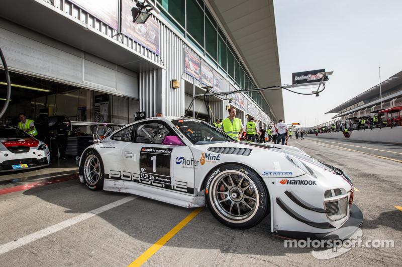#1 Stadler Motorsport, Porsche 997 GT3 R: Mark Ineichen, Rolf Ineichen, Adrian Amstutz, Christian Engelhart