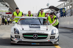 #27 Carro da coleção esportiva da Mercedes SLS AMG GT3