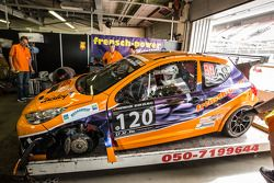 #120 Frensch Power Motorsport, Peugeot 207 RCR: Lisa Brunner, Martin Heidrich, Reinhard Nehls, Fried