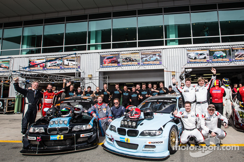 #78 JR Motorsport BMW E46 GTR: Harry Hilders, Gijs Bessem, Daan Meijer, Roger Grouwels, #77 JR Motor