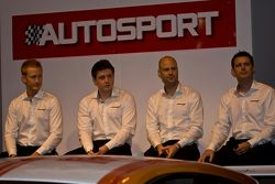 Mclaren Gt Driver from Left: Ross Wylie, Andrew Watson Rob Bell and Andrew Kirkaldy