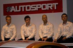 Mclaren Gt, piloto: Ross Wylie, Andrew Watson Rob Bell y Andrew Kirkaldy