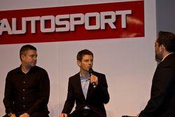Anthony Davidson und Sky-Reporter David Croft