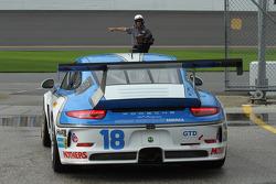#18 Muehlner Motorsports America 保时捷911 GT America: Jim Michaelian, Marc Basseng, Matteo Beretta, Da