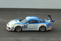 #18 Muehlner Motorsports América Porsche 911 GT América: Jim Michaelian, Marc Basseng, Matteo Berett