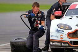 Aston Martin crew