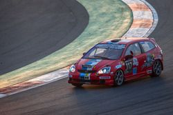 #117 VDS Racing Adventures Honda Civic Type-R EP3: Raphael van der Straten, Gregory Paisse, Michael Divoy, José Close