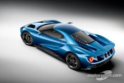 Presentación del Ford GT