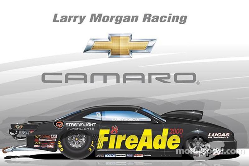 Larry Morgan, Farbdesign