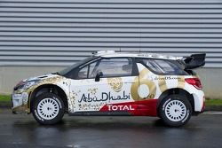The 2015 Citroën DS3 with a special 60th anniversary livery for the DS