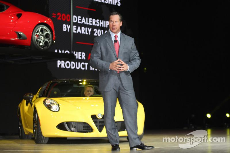 Reid Bigland President, CEO Alfa Romeo North America