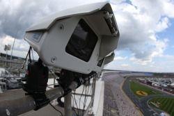 Cámaras y sensores utilizados para monitorear la zona de pits