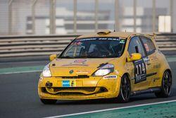 #114 presenza.eu Racing Team Clio Renault Clio Cup Endurance: Yoshiki Ohmura, Andreas Segler, Thomas Stockinger, Thomas Löfflad