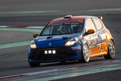 #126 Team Sally Racing Renault Clio Cup III: Martin Sally, Peter Obel, Mads Christensen, Sune Marcus