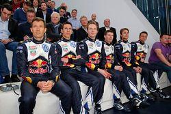 Volkswagen WRC-rijder en bijrijders