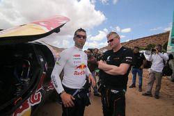 Cyril Despres y Gerard de Rooy