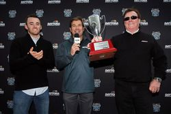 Joie Chitwood, Austin Dillon and Richard Childress, Richard Childress Racing