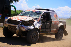#311 Toyota: Marek Dabrowski, Jacek Czachor in Schwierigkeiten