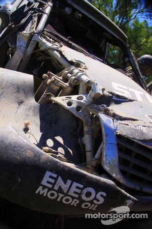 #339 Toyota: Benediktas Vanagas, Andrei Rudnitski en problemas
