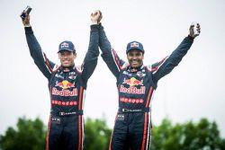 Car category winners #301 Mini: Nasser Al-Attiyah, Mathieu Baumel