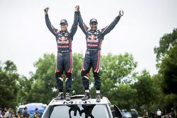 Vainqueurs de la catégorie Auto - #301 Mini: Nasser Al-Attiyah, Mathieu Baumel